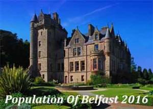 Population Of Belfast In 2016