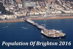 Population Of Brighton In 2016