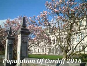 Population Of Cardiff In 2016