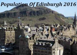 Population Of Edinburgh In 2016