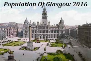 Population Of Glasgow In 2016