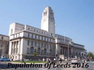 Population Of Leeds In 2016