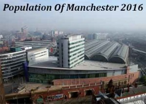 Population Of Manchester In 2016