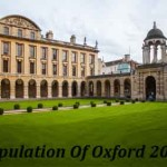 Population Of Oxford In 2016