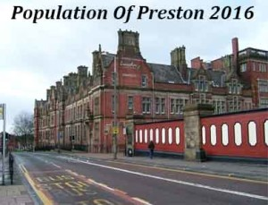 Population Of Preston In 2016