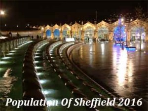 Population Of Sheffield In 2016