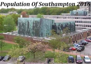 Population Of Southampton In 2016