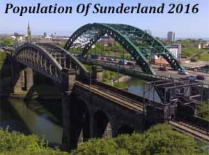 Population Of Sunderland In 2016