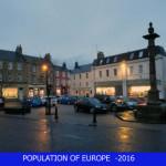 Population of Europe- 2016